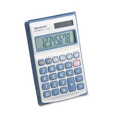 Sharp EL326SB El326Sb Portable Pocket/Handheld Calculator, 8-Digit Lcd