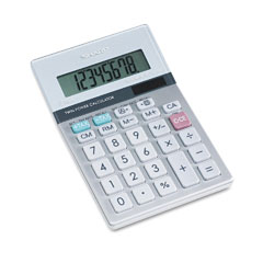 Sharp EL330TB El330Tb Portable Desktop Calculator, 8-Digit Lcd