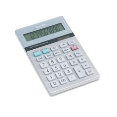 Sharp EL334TB El-334Mb Basic Calculator, 10-Digit Lcd