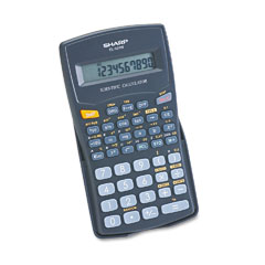 Sharp SHREL501WBBK EL-501WBBK Scientific Calculator, 10-Digit LCD