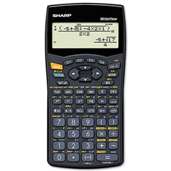 Sharp SHRELW535B ELW535B Scientific Calculator, 12-Digit LCD