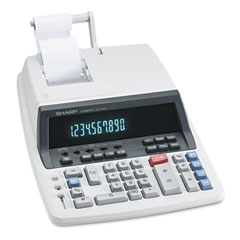 Sharp QS1760H Qs-1760H Two-Color Ribbon Printing Calculator, 10-Digit Fluorescent