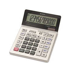 Sharp - vx2128v commercial desktop calculator, 12-digit lcd, sold as 1 ea