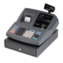 Sharp SHRXEA206 XE-A206 Cash Register, Thermal Printing, Graphic Logo Creation On Receipts