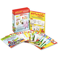 Scholastic - alpha tales learning library set, grades k-1, softcover, 128 pages, sold as 1 st