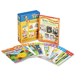 Scholastic - word family tales teaching guide, grades pre k-2, softcover, 128 pages, sold as 1 st