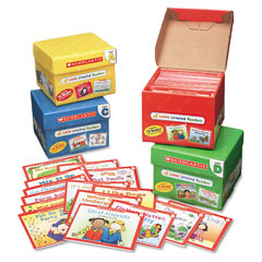 Scholastic - little leveled readers mini teaching guide, 75 books, five each of 15 titles, sold as 1 pk