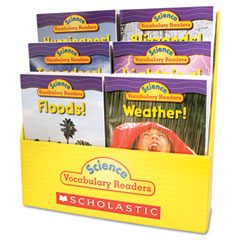 Scholastic - science vocabulary readers: wild weather, 36 books/six titles and teaching guide, sold as 1 ea