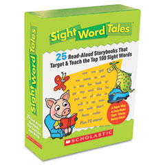 Scholastic - sight word tales, 25 books/16 pages and teachers guide, sold as 1 ea