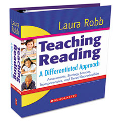Scholastic - teaching reading: a differentiated approach, binder, grades 4 and up, 504 pages, sold as 1 ea
