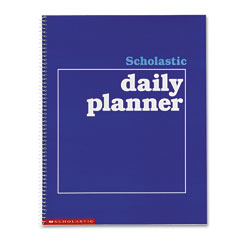 Scholastic 0590490672 Daily Planner, Grades K-6, 11 X 8-1/2, 88 Pages