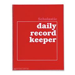 Scholastic - daily record keeper, grades k-6, 11 x 8-1/2, 64 pages, sold as 1 ea