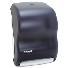 San Jamar T1300TBK Electronic Touchless Roll Towel Dispenser, 11 3/4 X 9 X 15 1/2, Black