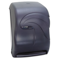 San Jamar T1390TBK Electronic Touchless Roll Towel Dispenser, 11 3/4 X 9 X 15 1/2, Black