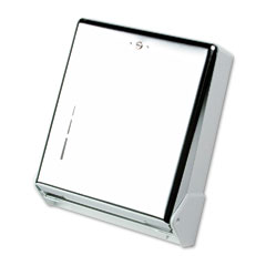San Jamar T1905XC True Fold Metal Front Cabinet Towel Dispenser,11 5/8 X 5 X 14 1/2, Chrome