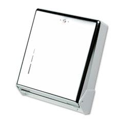 San Jamar T1905XC True Fold Metal Front Cabinet Towel Dispenser,11 5/8 X 5 X 14 1/2, Chrome