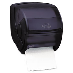 San Jamar T850TBK Integra Lever Roll Towel Dispenser, 11 1/2 X 11.15 X 13 1/2, Black