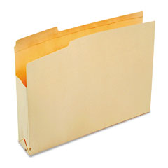 SJ Paper S11220 File Jackets With Two Inch Expansion, Letter, 11 Point Manila, 50/Carton
