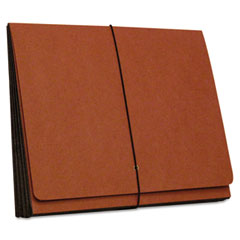 SJ Paper S84308 Four Inch Expansion Wallets, Redrope, Letter, Red