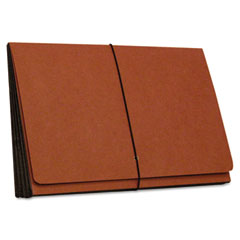 SJ Paper S85308 Four Inch Expansion Wallets, Redrope, Legal, Red
