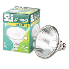 Supreme Lighting 14755 Halogen Reflector Indoor Floodlight, 90 Watts