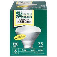 Supreme Lighting 15669 Incandescent Reflector Indoor Floodlight Bulb, 75 Watts