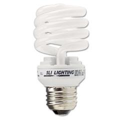 Supreme Lighting 26166 Spiral, Soft White Energy Saver Compact Fluorescent Bulb, 13 Watts