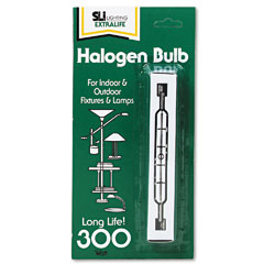 Supreme Lighting 60995 Halogen Bi-Pin Bulb, 300 Watts