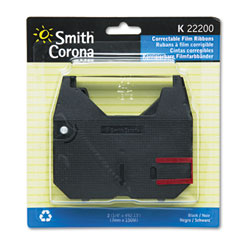 Smith corona - 22200 ribbon, black, sold as 1 pk