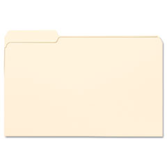 Smead - file folders, 1/3 cut first position, one-ply top tab, legal, manila, 100/box, sold as 1 bx