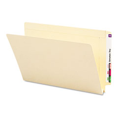 Smead - 1 1/2 inch expansion folders, straight end tab, legal, manila, 50/box, sold as 1 bx