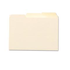 Smead 55030 Self-Tab Card Guides, 1/3 Tab, Manila, 3 X 5, 100/Box