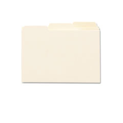 Smead 56030 Self-Tab Card Guides, Blank, 1/3 Tab, Manila, 4 X 6, 100/Box