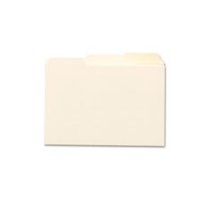 Smead 57030 Self-Tab Card Guides, Blank, 1/3 Tab, Manila, 5 X 8, 100/Box