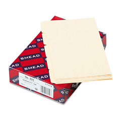 Smead 57050 Self-Tab Card Guides, Blank, 1/5 Tab, Manila, 5 X 8, 100/Box