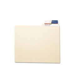 Smead 67600 Seal & View File Folder Label Protector, Clear Laminate, 3-1/2X1-11/16, 100/Pack