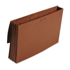 Smead 71055 3 1/2 Inch Expansion Wallet, Redrope, 14 3/4 X 9 1/2, Redrope