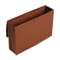 Smead 71075 5 1/4 Inch Expansion Wallet, Redrope, 14 3/4 X 9 1/2, Redrope