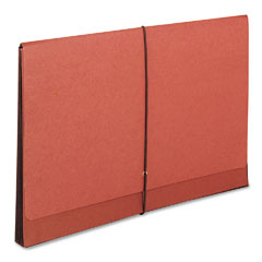 Smead - tuff 5 1/4 inch expansion wallets, manila/redrope, legal, sold as 1 ea