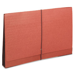 Smead - tuff seven inch expansion wallets, manila/redrope, legal, sold as 1 ea