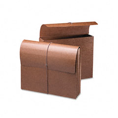 Smead - 3 1/2 inch expansion wallets, letter, leather-like redrope, 10/box, sold as 1 ea