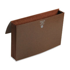 Smead - 3 1/2 inch expansion wallets, legal, leather-like redrope, 10/box, sold as 1 ea