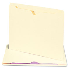 Smead - file jackets with double-ply tab, letter, 11 point manila, 100/box, sold as 1 bx