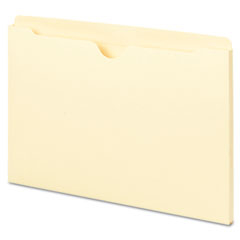 Smead - file jackets with double-ply top, legal, 11 point manila, 100/box, sold as 1 bx