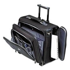 Samsonite - side loader office laptop case, nylon, 17-1/2 x 17-1/2 x 15, black, sold as 1 ea