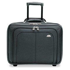 Samsonite - business one laptop carrying case, nylon, 17-1/2 x 9 x 14, black, sold as 1 ea