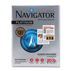 Soporcel NPL1120 Platinum Paper, 99 Brightness, 20Lb, 8-1/2 X 11, White, 5000/Carton