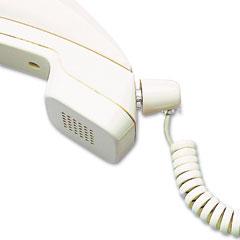 Softalk - twisstop detangler w/coiled, 25-foot phone cord, ash, sold as 1 ea