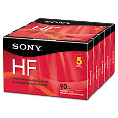 Sony 5C90HFR High Fidelity Audio Cassette, Normal Bias, 90 Minutes (45 X 2)