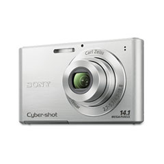 Sony SONDSCW330 W330 Cyber-shot Digital Camera, 14MP, 4x Optical Zoom